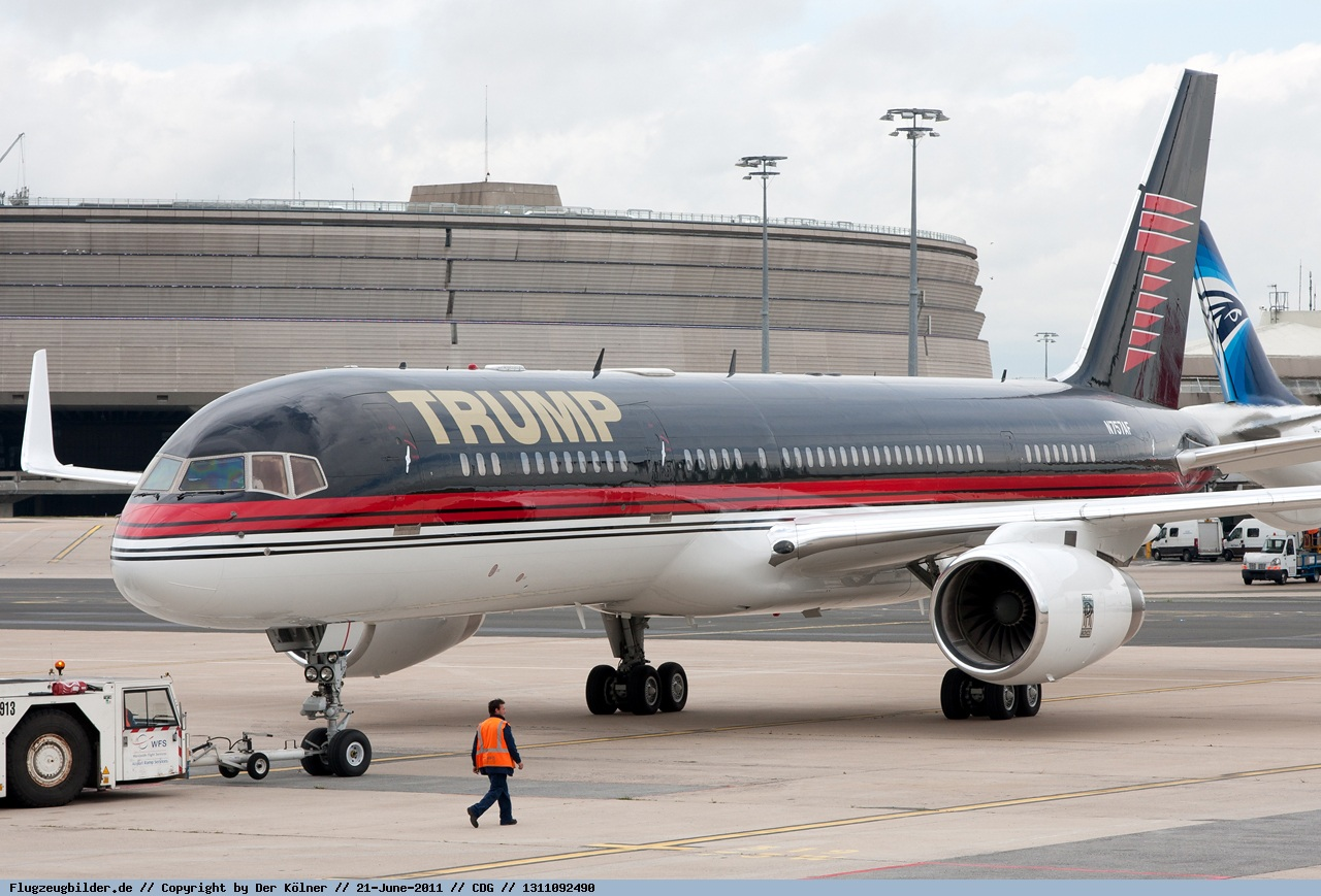 Donald Trump 757 Tail Number | www.galleryhip.com - The ...