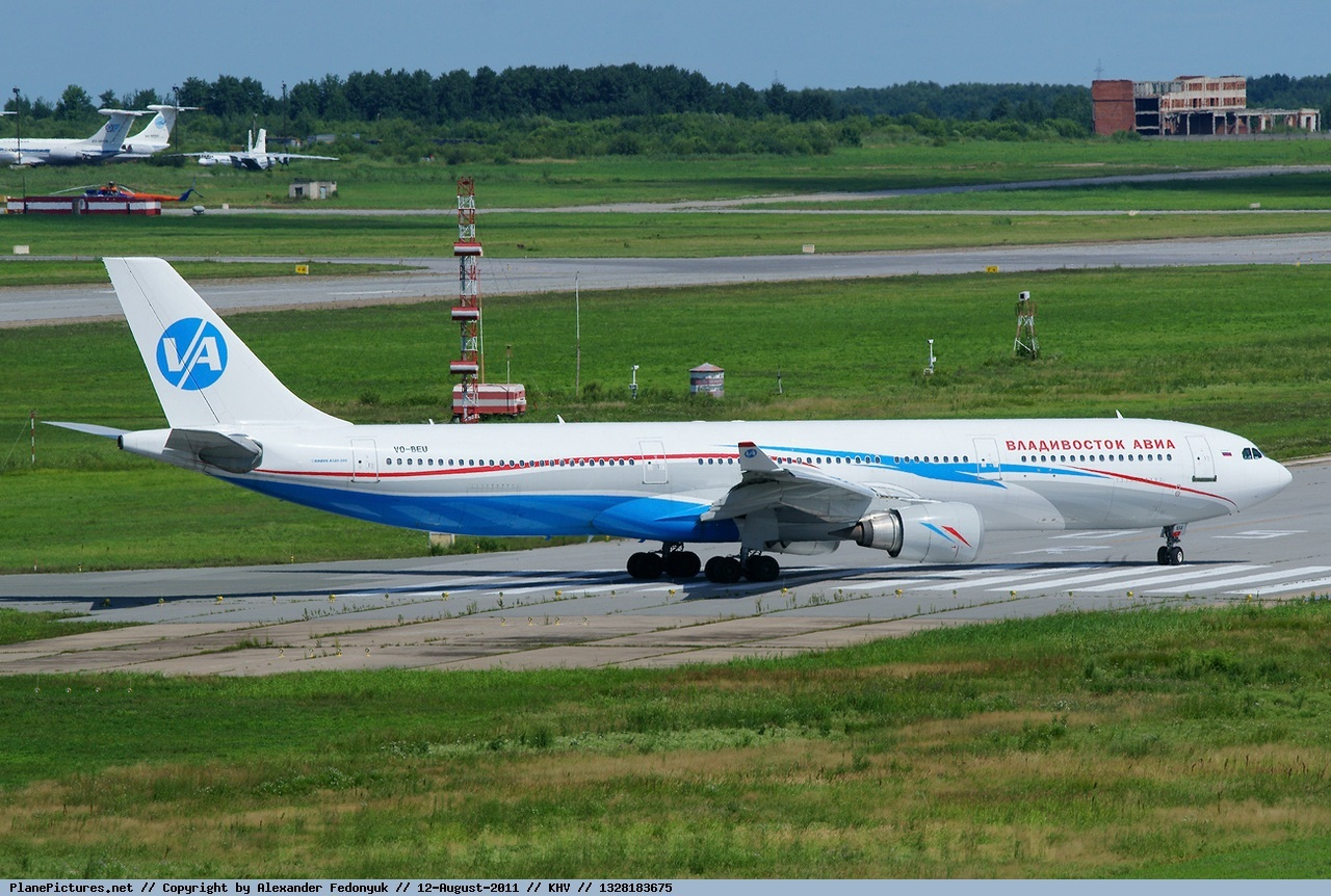Фото с самолета владивосток