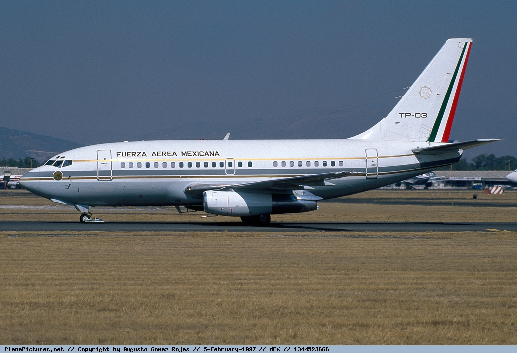 Boein 737 de la FAM en esquema Gris 1344523666