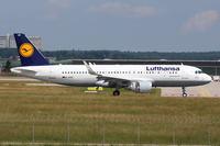 D-AIUO - A320 - Lufthansa